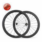 50mm Clincher Carbon Wheels Racing Road Bike Carbon Fiber Wheels Basalt Brake