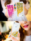 For iPhone 5/5S 6 /6plus moveable sand slid star transparency Cover Case Skin