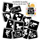 GIRLS GLITTER TATTOO STENCIL PACK for Glitter Body Art and Ink Tattoos