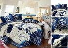 Twin Queen King Duvet Covers Comforter Sets 5Pc Cute Blue Mickey Mouse Bed Linen