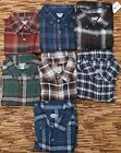 SUN RIVER MEN'S CLASSIC FLANNEL SHIRT STYLING, QUALITY, DETAIL LIST $40