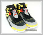 Nike Air Jordan Spiz'ike Lee Black Red Silver Grey Yellow 315371-050 3M Spizike