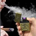 Arc Lighters metal USB Rechargeable Flameless Electric Windproof Cigar Cigarette