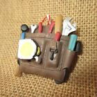 Carpenter Mechanics Tool Belt Bag Holiday Christmas Tree Ornament