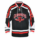 Guinness Red and White Hockey Jersey Shirt New 2015