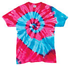 Gildan Tie Dye Men's Heavyweight 100% Cotton Short Sleeve Crewneck T-Shirt. 56 image