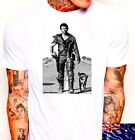 madmax chopper ned SMALL to 3XL  southern cross white australian tshirt read v8