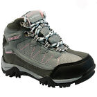 HI TEC BOYS GIRLS CHILDREN LEATHER WATERPROOF SCHOOL HIKING BOOTS TRAINERS SIZE