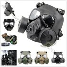 High Quality Airsoft Tactical Gun Game Dummy Gas Anti-fog Gear Protective Mask