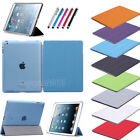 New Magnetic Leather Smart Cover Hard Back Case For Apple Ipad Air 1 2 3 Mini 4
