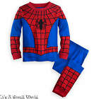 Disney Store Spider-Man Deluxe PJ PALS for Boys Size 6 7 8 10 NWT