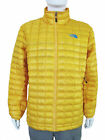 THE NORTH FACE Mens ThermoBall Full Zip Jacket XL Yellow Packable A7ZG NEW