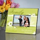 Delicate Daisy in 4 Designs | Personalized Picture Frame for 4x6 Photo