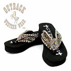 Gypsy Soule Chained Up Embellished Flip Flops