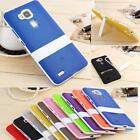 New Protective Impact Kickstand TPU Cell Back Case Cover Skin For Huawei Mate 7