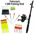 Complete Coarse Fishing Starter Kit Rod Reel Float Line Hook Beginner Tackle Set
