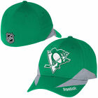 Reebok Pittsburgh Penguins Kelly Green St. Patrick's Day Structured Flex Hat