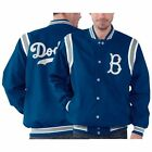 Brooklyn Dodgers Royal Blue Run Down Cooperstown Varsity Jacket