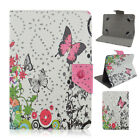 UltraThin Diamond Butterfly Flower Printed PU Leather Case Cover For Asus Tablet