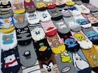 Korean Character Socks for Women 3,5,7,10,15Pairs Random Shipping, Made in Korea