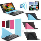 US Universal Bluetooth Slim Keyboard With Case For 9~11 Android Windows Tablets