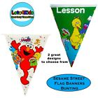 SESAME STREET ELMO PARTY FLAG BANNERS - PARTY SUPPLIES - PARTY SUPPLIES - 1 PACK