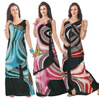 NEW LADIES WOMEN'S SLEEVELESS MAXI PARTY DRESS ON CLEARANCE