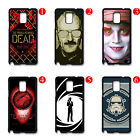 TV Show Movie Design Black Hard Case Cover For Samsung Galaxy S4 S5 Note 2 3 4 $5.99 USD