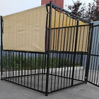 8' x 10' UV Rated Dog Kennel Sun Block Tops W/Grommets