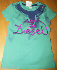 Diesel baby girl green t-shirt  top  size 0-3 m BN NEW designer