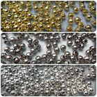 100 x Iron Spacer Beads - Round - 4mm [Various Colours Available]