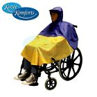 Kozee Komforts Childs Wheelchair Poncho Waterproof  Clothing Rain Cover Coat Mac
