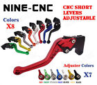 CNC Short Brake Clutch Levers For Honda CB1300 X4 2003-2010 CBF1000/A 2010-2013