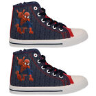 **BOYS KIDS MARVEL AMAZING SPIDERMAN CANVAS SHOES RETRO PUMPS PLIMSOLLS TRAINERS