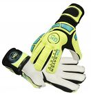 Goalkeeper Gloves Finger Save Football Goalie Flat Cut Gloves GK Saver Cool 02