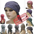 Fitted Bandana Scarf Durag Cap Hat Chemo Hair Loss Head Wrap  Cover headcovering