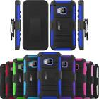 Armatus Gear Rugged Hybrid Armor Case Holster Combo Phone Cover for HTC One M9