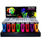 PAINTGLOW NEON UV GLOW FACE BODY PAINT 10ML FLUORESCENT FESTIVAL RAVE 80S ULTRA