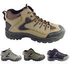 Lace Up Ankle Hiking Boots Mountain Camping Walking Trail Trekking Trainers  NEW