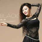 New Women Belly Dancing  Lace Shrug Arm Gloves Bolero Finger Loop Ballroom