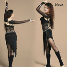 New Women Belly Dancing Costume Lace 2pics Shrug and jumpsuit dress