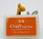 Rubber Stamps Craft  Ink Pad for Paper Wood 18 Colours UK Card Making Invitation