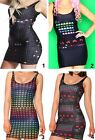 Womens PAC MAN Namco Hip Vest Skirts Mini Short Dress Leotard Clubwear Game Funs