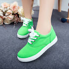 New Women Fashion Sneakers Shoes Canvas Shoes Lace-up Running Shoes