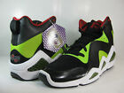 REEBOK MENS KAMIKAZE III NC BLACK-SONIC GREEN-RED  J83098