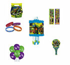 TEENAGE MUTANT NINJA TURTLE TMNT BIRTHDAY PARTY LOOTBAGS, PINATA & FILLERS