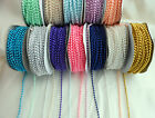 BUY 1 GET 1 FREE****PEARL BEAD STRING 3mm x 3 Metres  Wedding favours/crafts etc