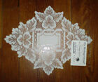 "Heritage Lace Heirloom 9""x12""  DoilyRunner 100% Polyester, Floral, diamond shape"