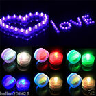 12x LED Submersible Waterproof Wedding Floral Decoration Tea Vase Battery Light