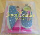 Juicy Couture baby girl shoes booties BNIB 18 EUR 2.5 UK 6-9 m designer JCONG587